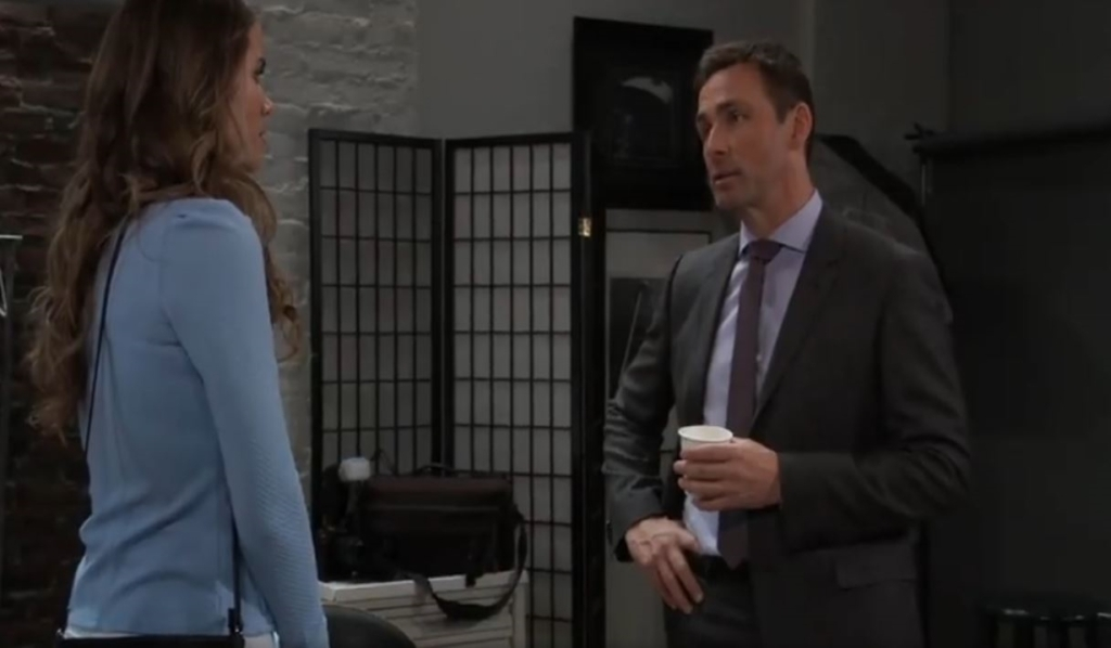 Valentin tells Sasha nothing is black and white in apartment General Hospital