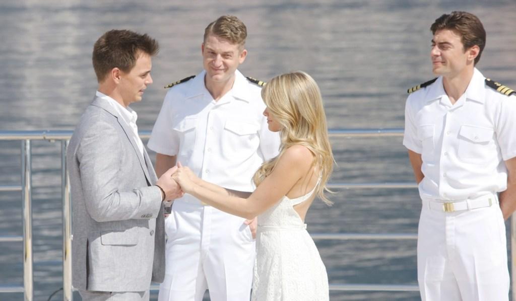 Wyatt, Hope wedding yacht Bold and Beautiful