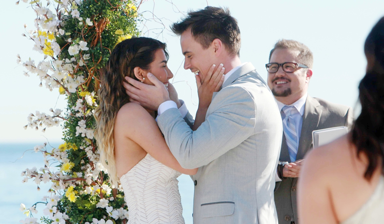 Wyatt, Steffy wedding Bold and Beautiful