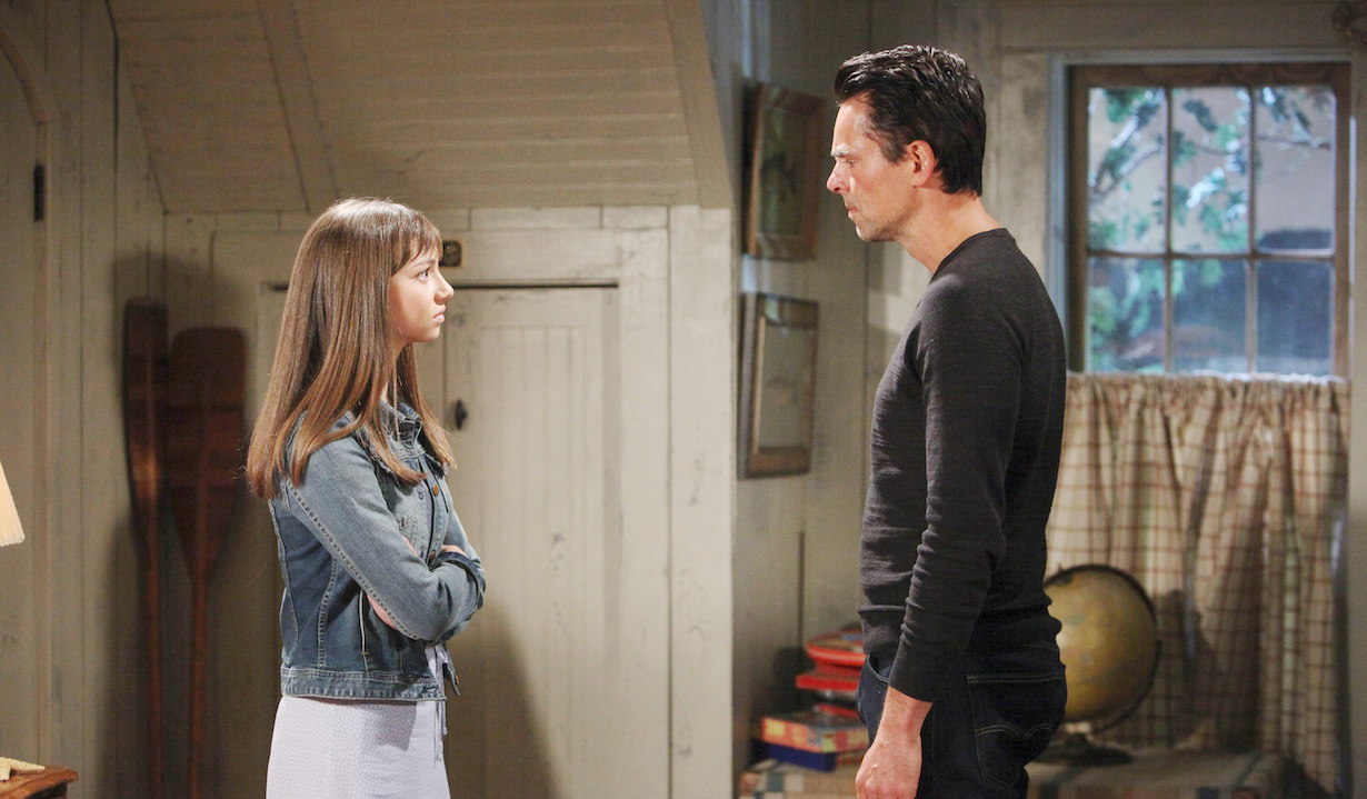 who killed young restless delia billy grown