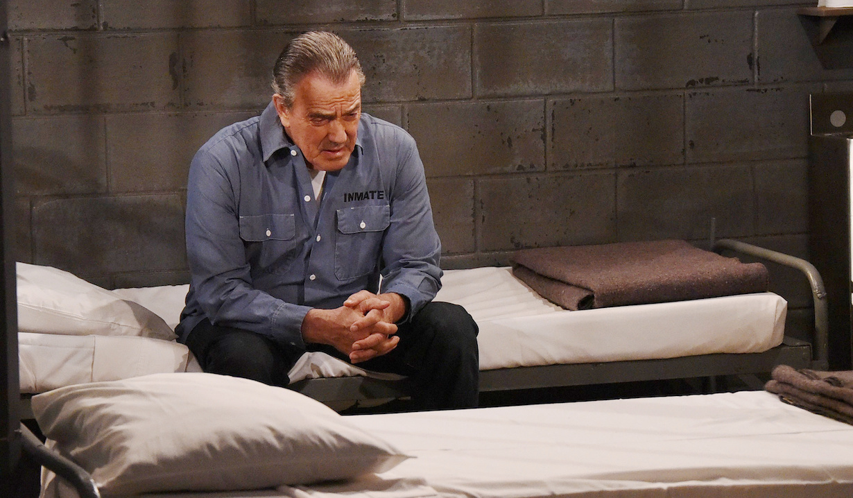 who killed young restless delia victor jail