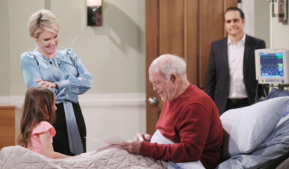 Ava brings Avery to see Mike on GH