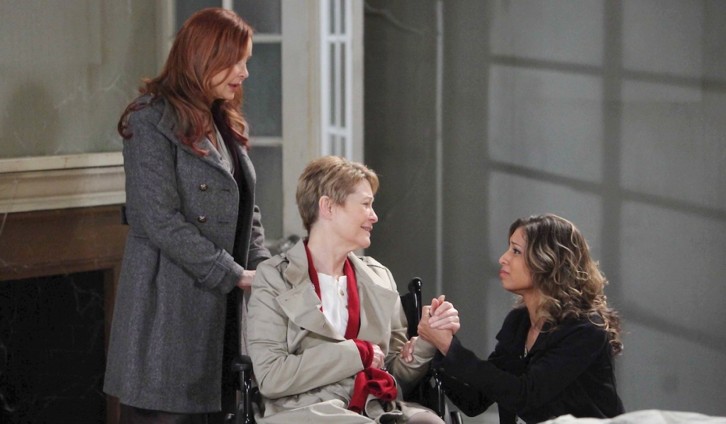 Bobbie, Patricia, and Valerie on General Hospital