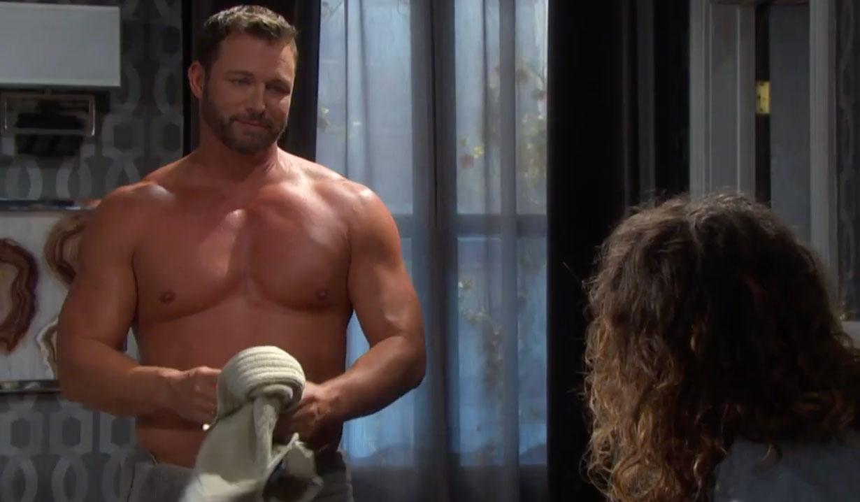 Brady and Sarah have revenge sex on Days