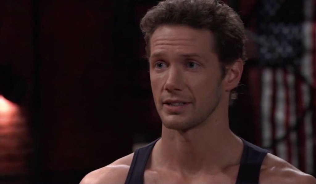 Brando tells Jason he's staying in town on General Hospital