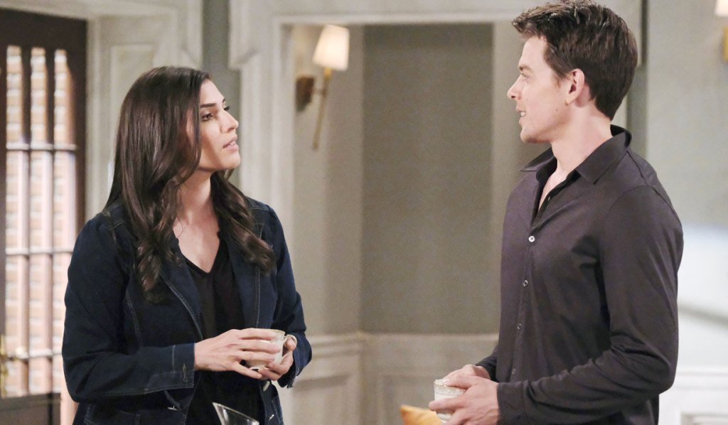 Brook Lynn and Michael chat on GH