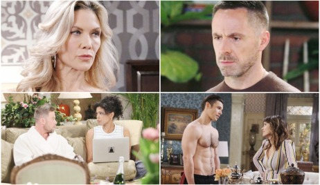 soap characters in quarantine photos
