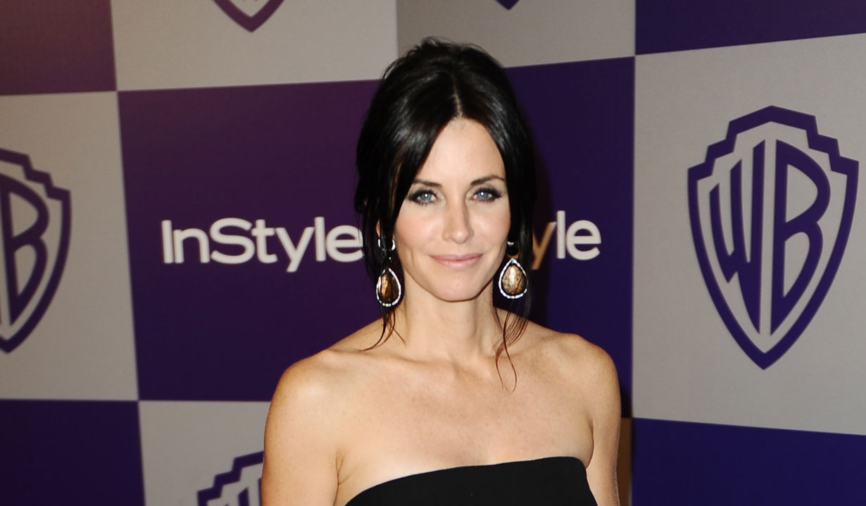 Courteney cox on as the world turns