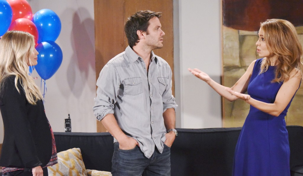 Dante caught between Lulu and Olivia on GH