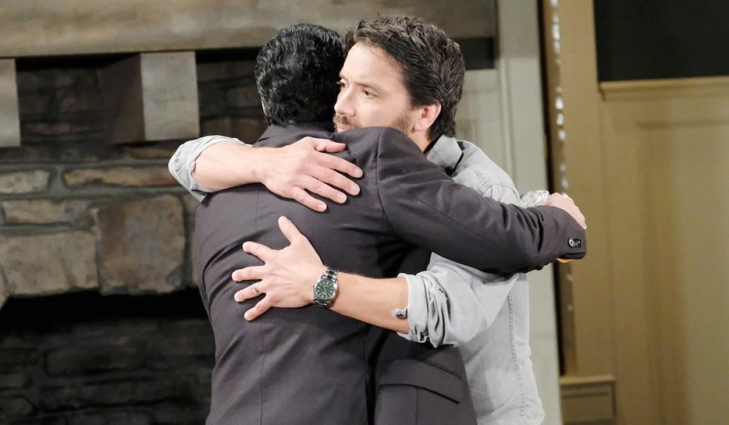 Dante hugs Sonny on GH