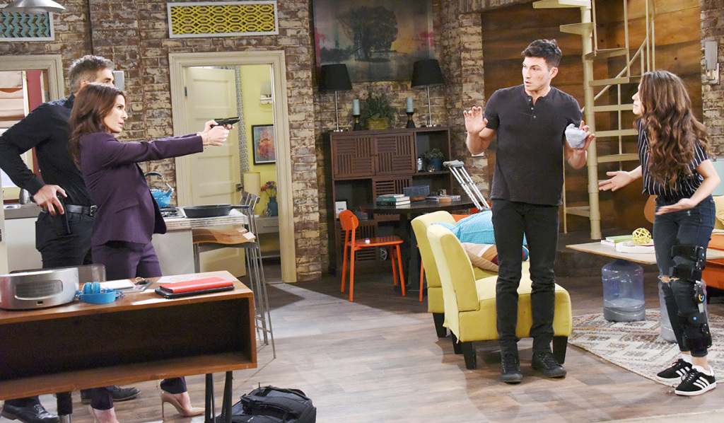 days of our lives ben ciara should not marry hope points gun