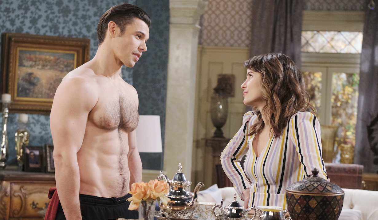 soap characters in quarantine days shirtless xander