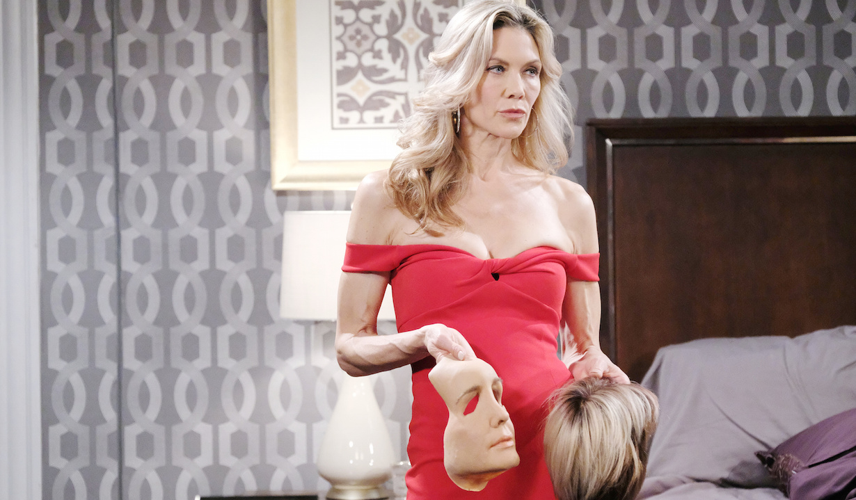 soap characters in quarantine days kristen mask