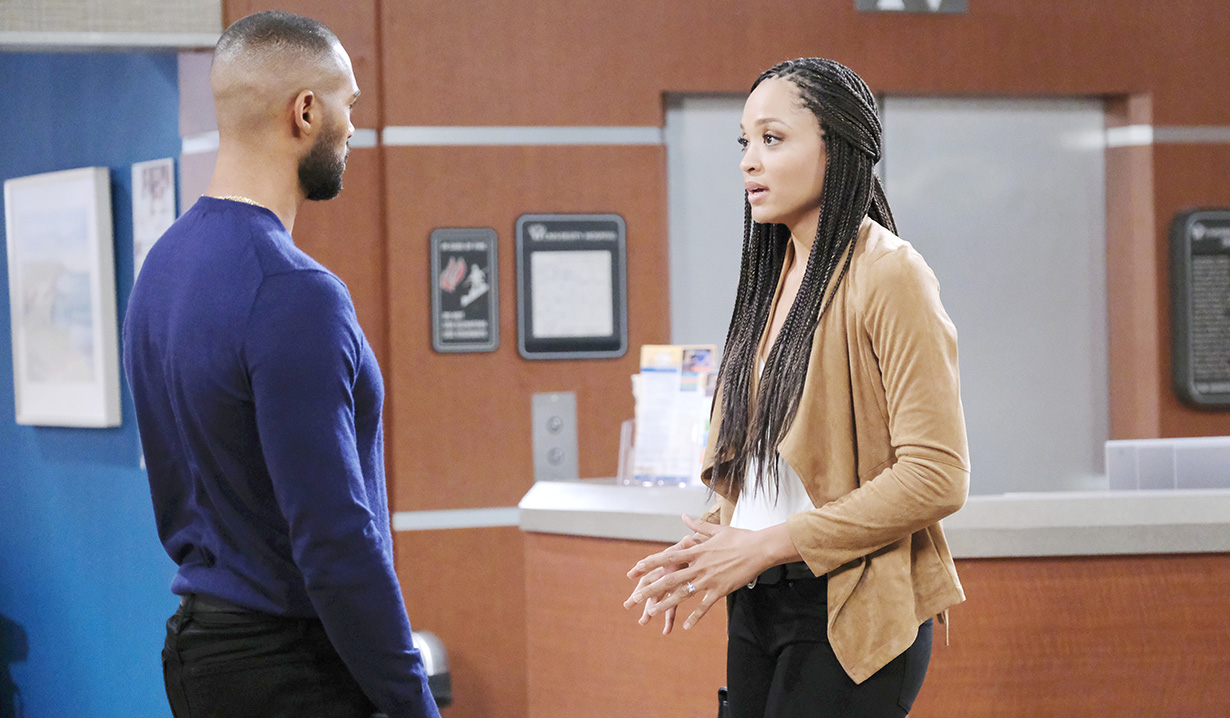 """Sal Stowers, Lamon Archey """"Days of our Lives"""""""