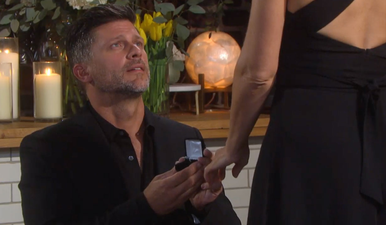Eric proposes to Nicole on Days