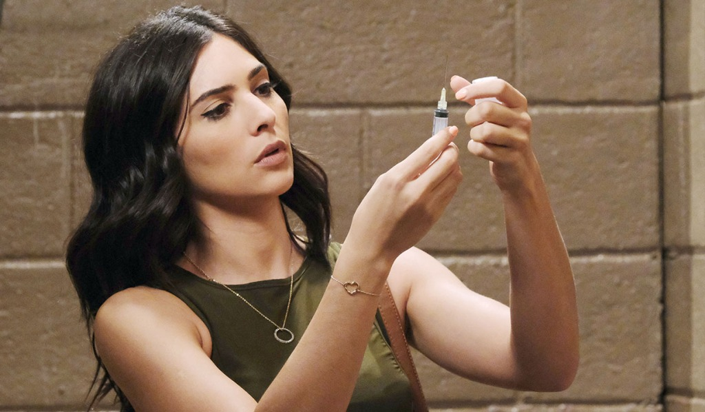 Gabi prepares serum for Jake DAYS