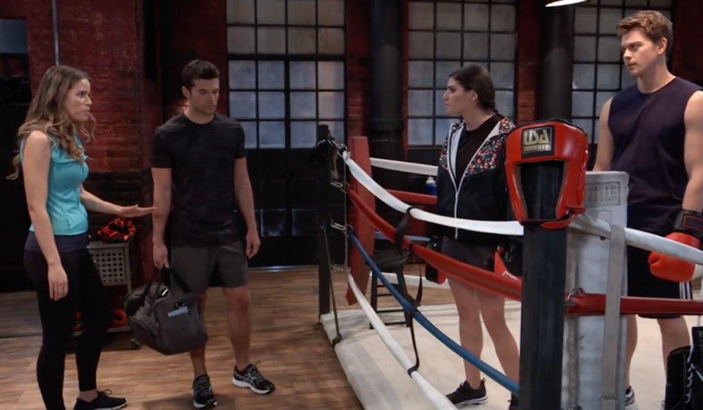 Brooklynn showdown with Sasha on General Hospital