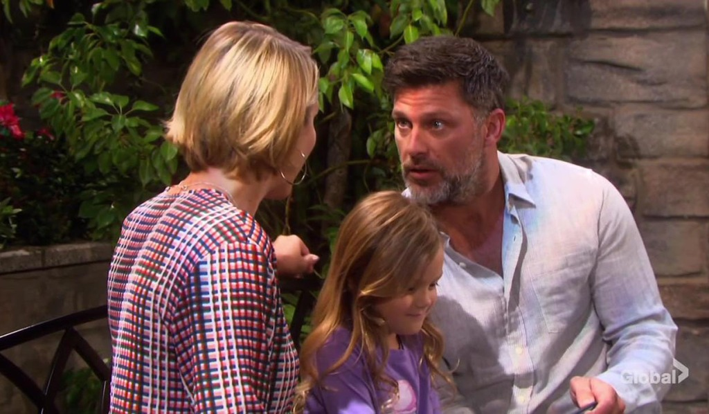 holly loves eric, calls him her dad days of our lives