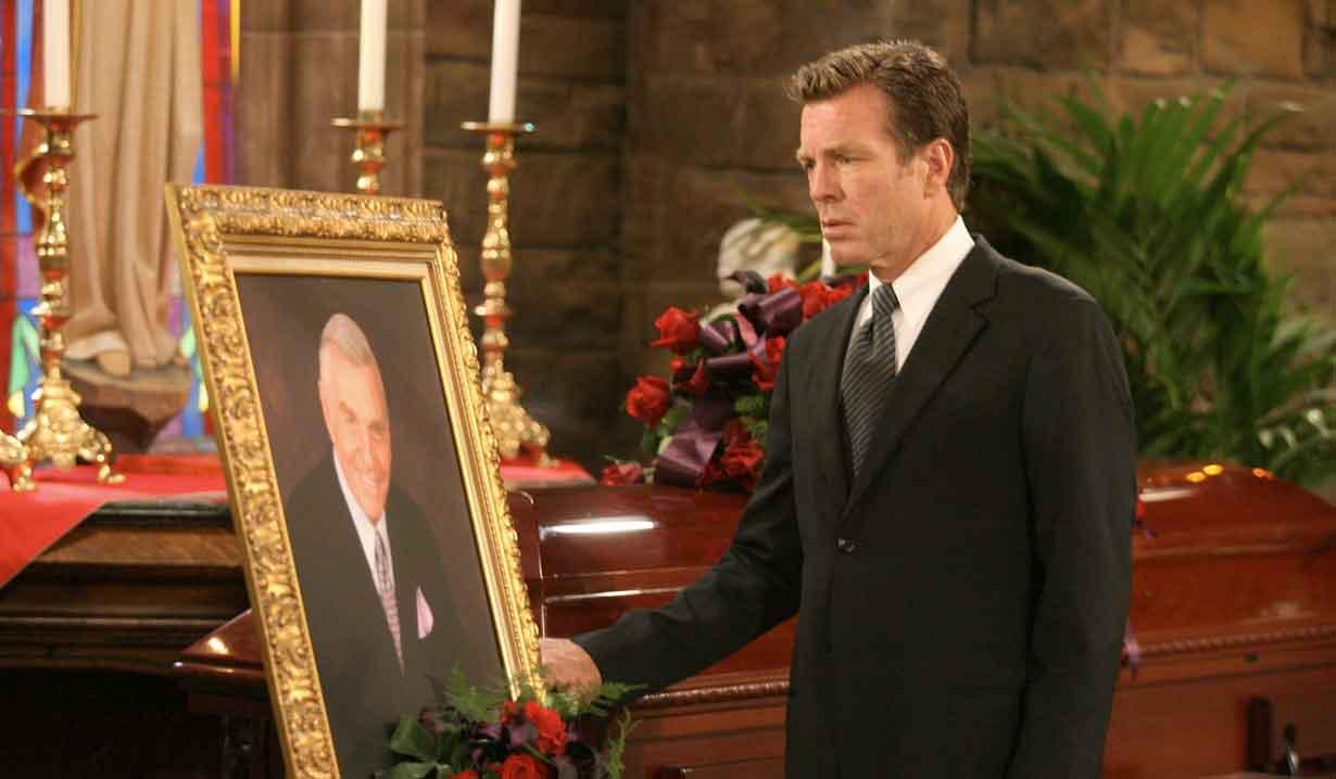jack at john's funeral yr
