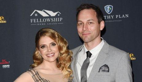 Jen Lilley and husband Jason Wayne of Days