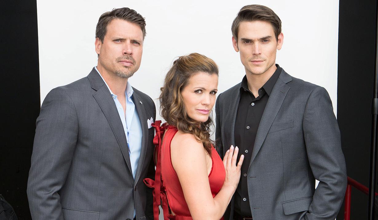 Josh, Melissa and Mark Y&R