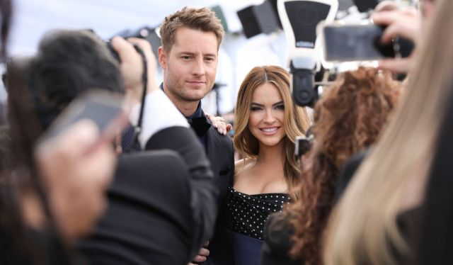 Justin Hartley and Chrishell Stause25th Annual Screen Actors Guild Awards, Roaming Arrivals, Los Angeles, USA - 27 Jan 2019
