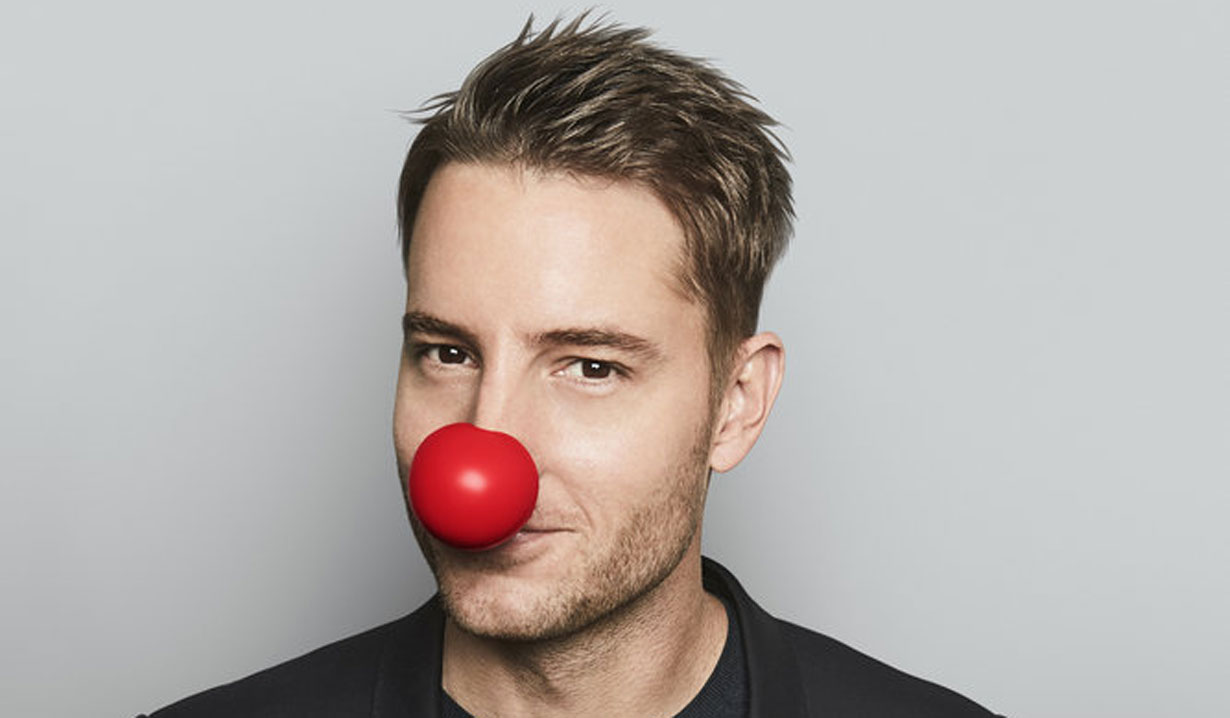 Y&R Justin Hartley hosts red nose day special