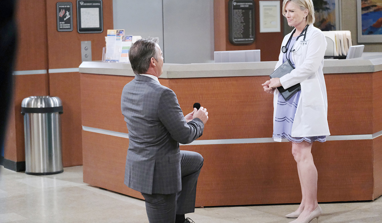 """Wally Kurth, Mary Beth Evans, """"Days of our Lives"""""""