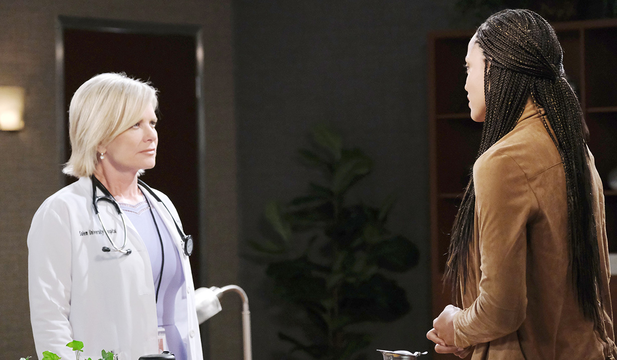 """Sal Stowers, Mary Beth Evans """"Days of our Lives"""""""