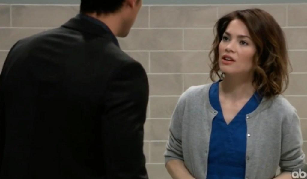 Liz wonders if Nik has feelings for Ava on General Hospital