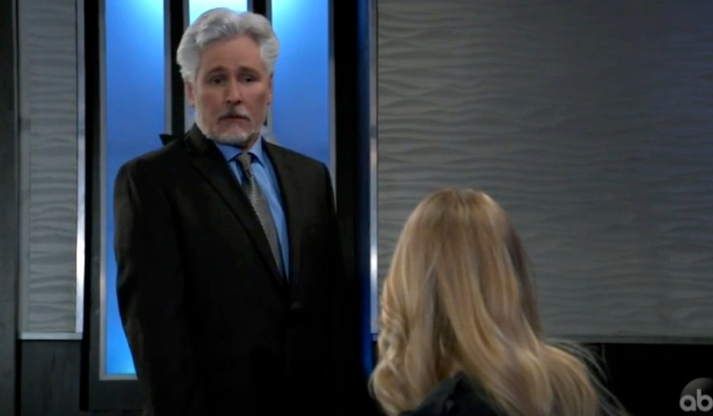 Martin meets with Nelle at the Metro Court on General Hospital