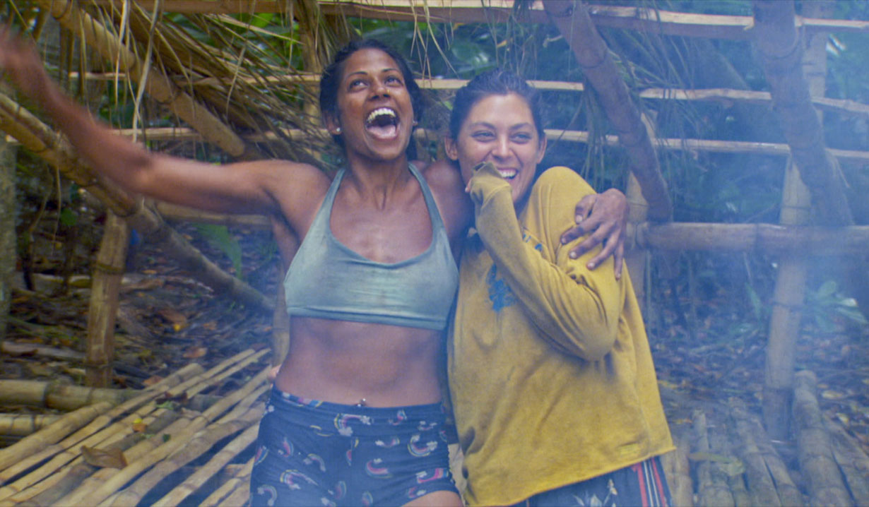 Runners up Natalie and Michele Survivorour season finale episode of SURVIVOR: WINNERS AT WAR, airing Wednesday, May 13th (8:00-11:00 PM, ET/PT) on the CBS Television Network. Photo: Screen Grab/CBS Entertainment ©2020 CBS Broadcasting, Inc. All Rights Reserved.