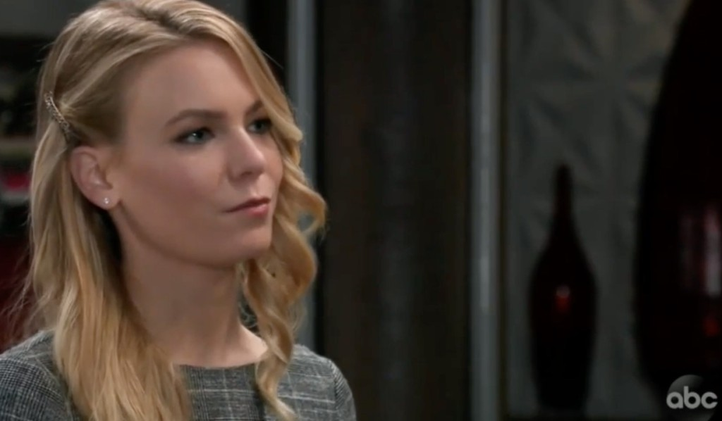 Nelle confides in Nina on GH