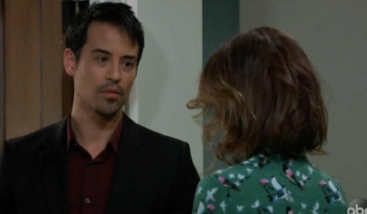 Nikolas talks Elizabeth about Franco on GH