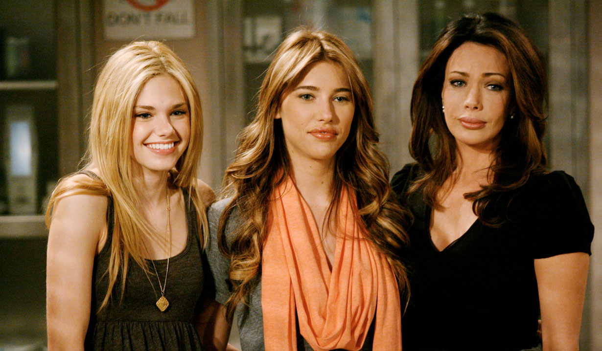 The Forrester girls on B&B