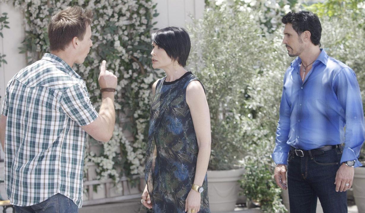 quinn tells wyatt bill's his father b&b