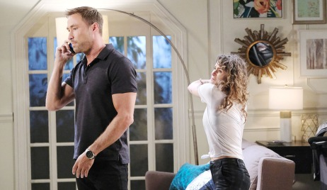 sarah hits rex days of our lives