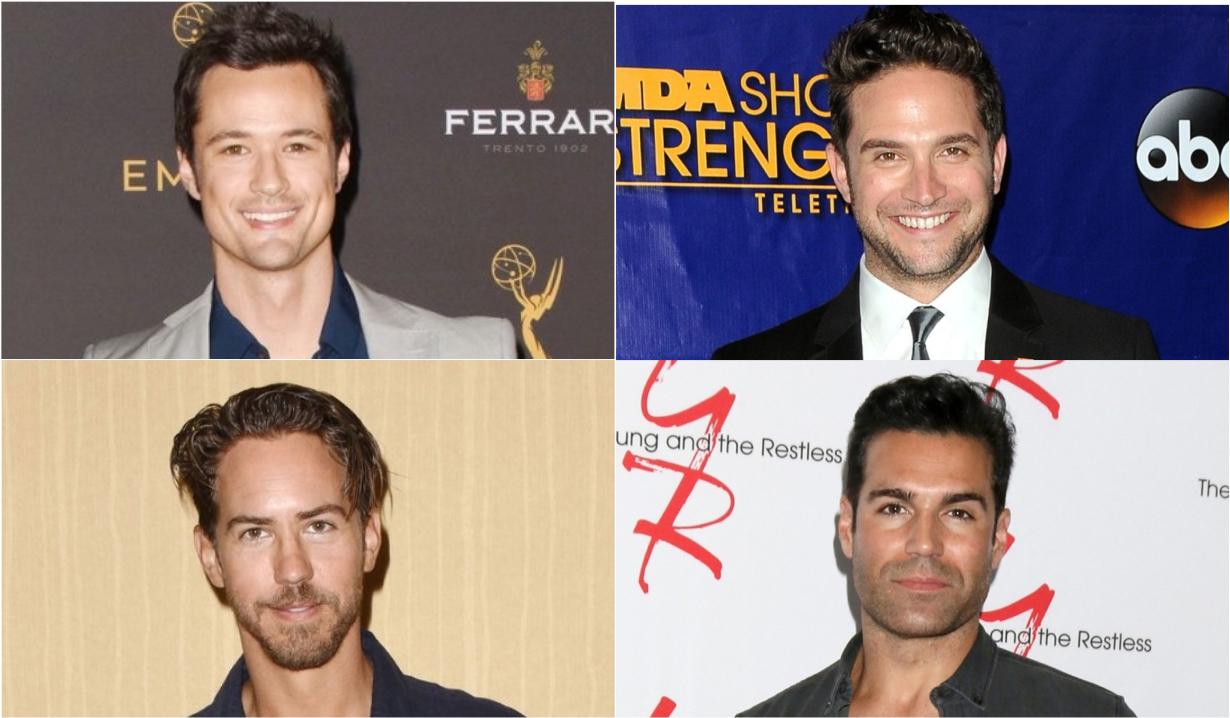 Soap opera actors show off quarantine beards