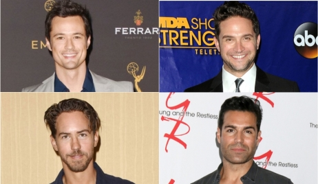 Soap opera actors show off quarantine beards