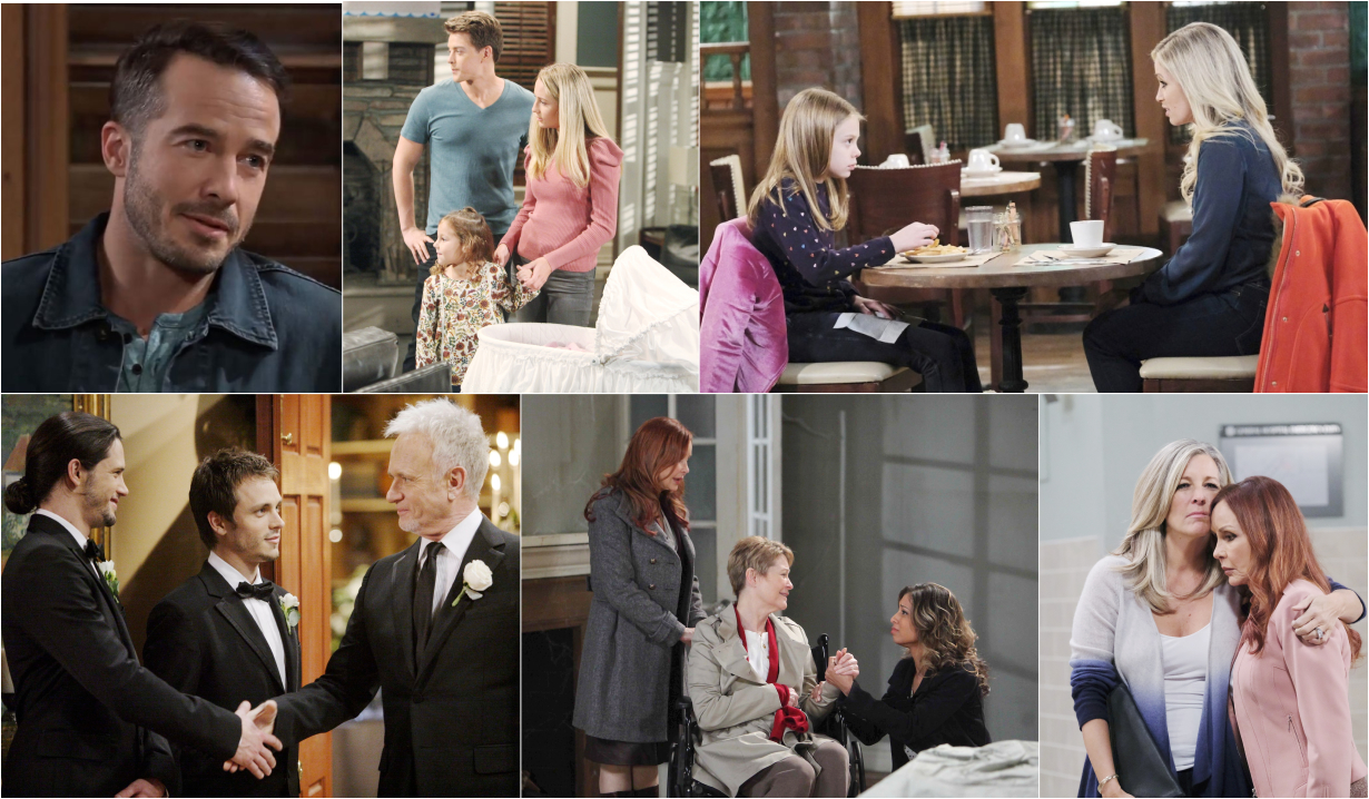The Spencer family tree on GH
