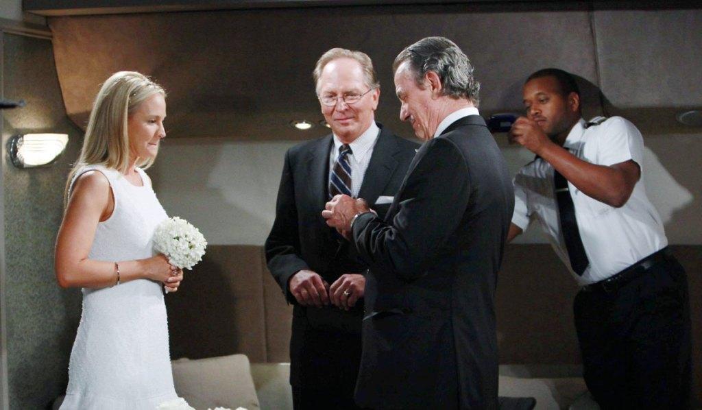victor and sharon wedding Y&R