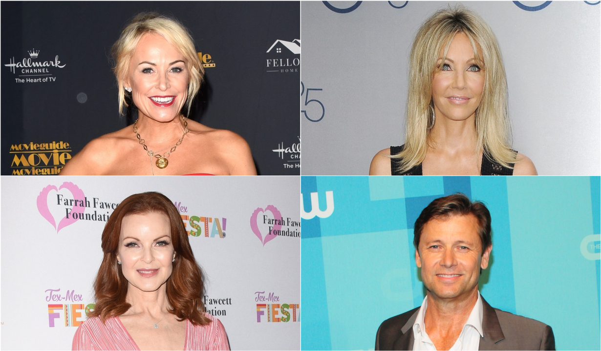 Cast of original Melrose Place