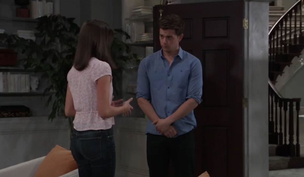 Willow and Michael discuss marriage on GH