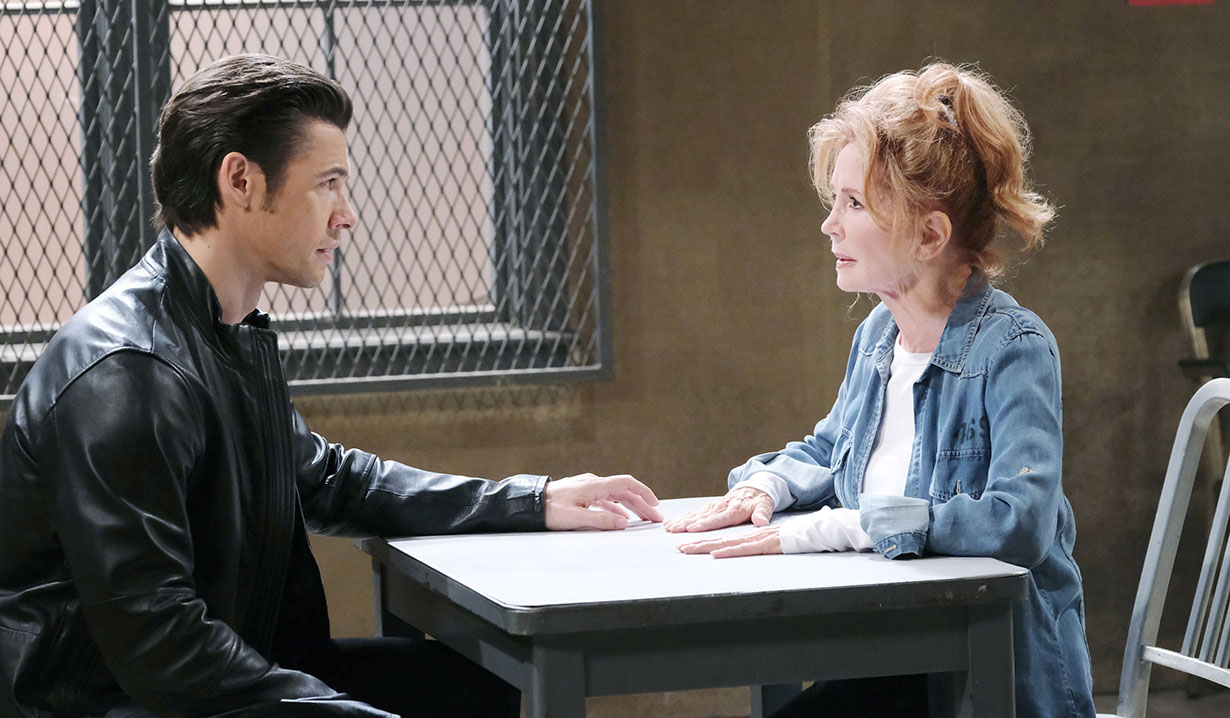 xander tells maggie truth Days of our Lives
