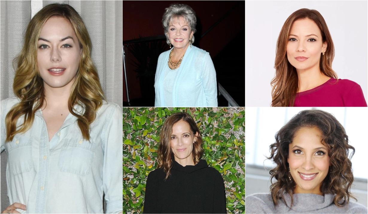 Annika Noell, Christel Khalil, Susan Seaforth Hayes, Rebecca Budig, Tamara Braun, B&B, Days, GH, Y&R
