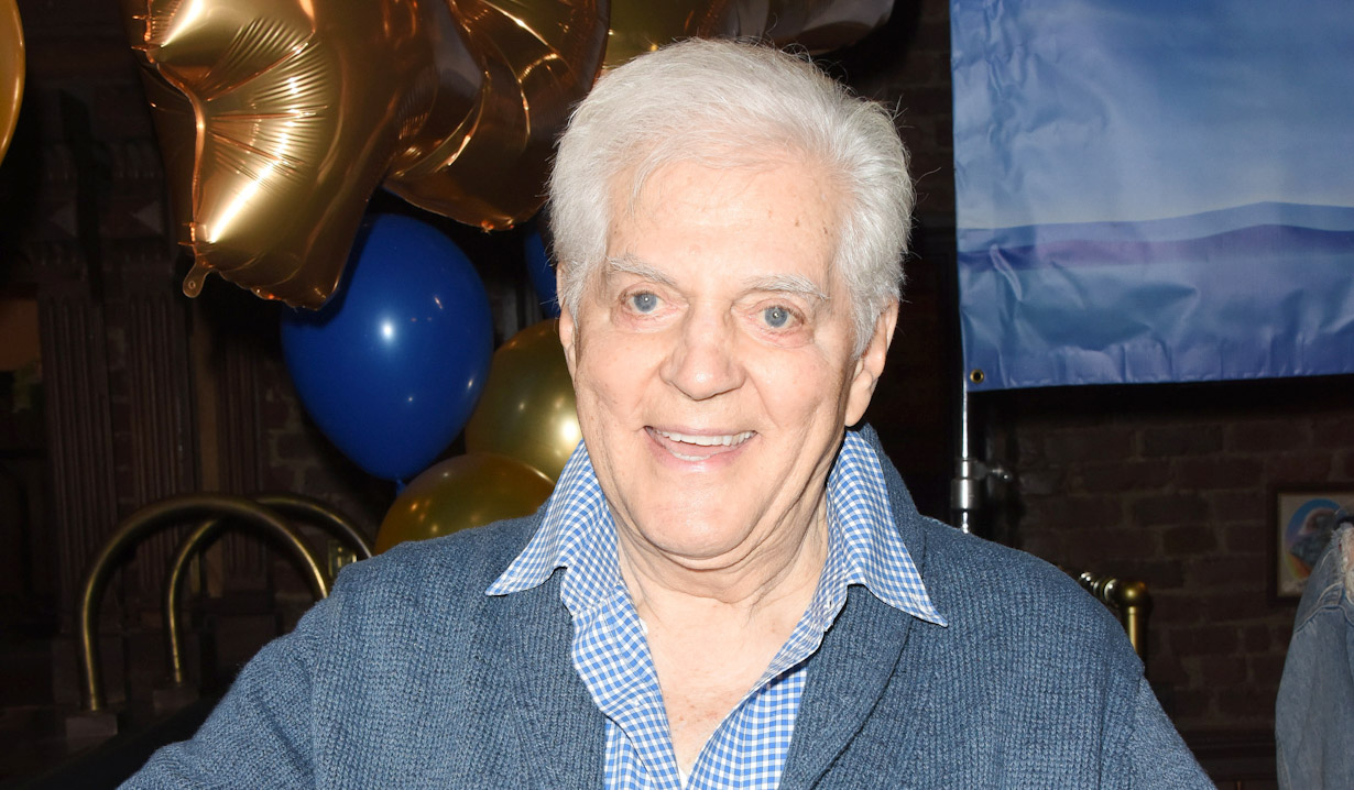 "Bill Hayes ""Days of our Lives"" Set Celebrating 54 year Anniversary NBC"