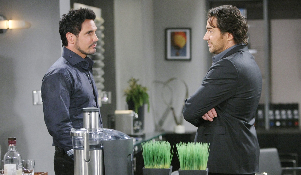 Bill and Ridge face off on Bold and Beautiful