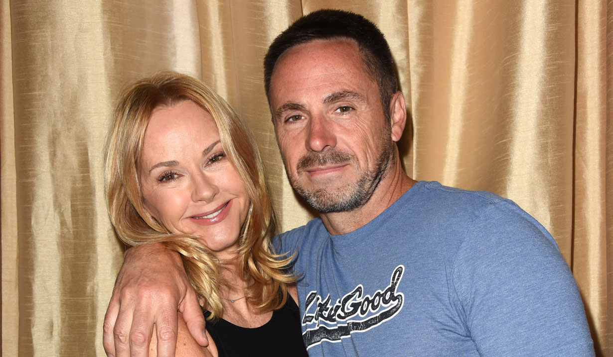 GH's William deVry and Rebecca Staab
