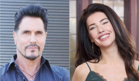 Don Diamont, Jacqueline MacInnes Wood, Bill, Steffy B&B