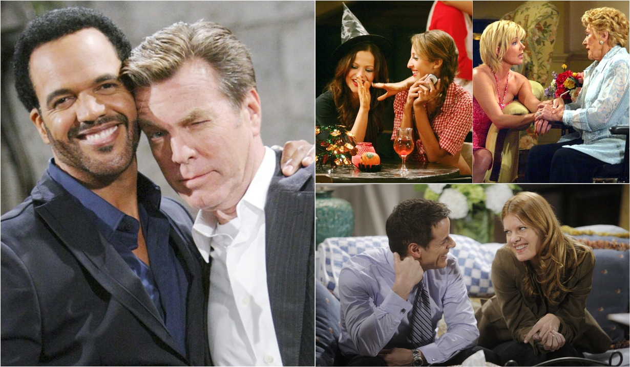 Y&R friendships collage